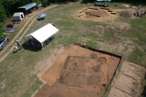 overhead view of The Berry Site