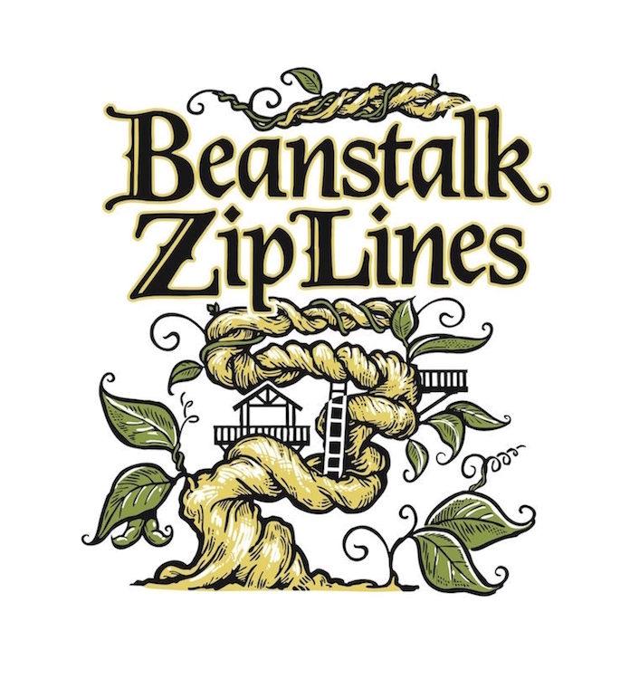 Beanstalk Ziplines logo