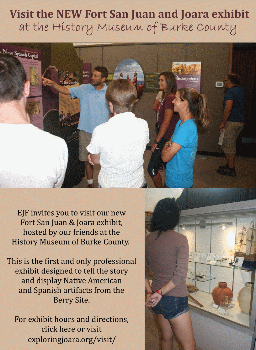 Exhibit at History Museum of Burke County