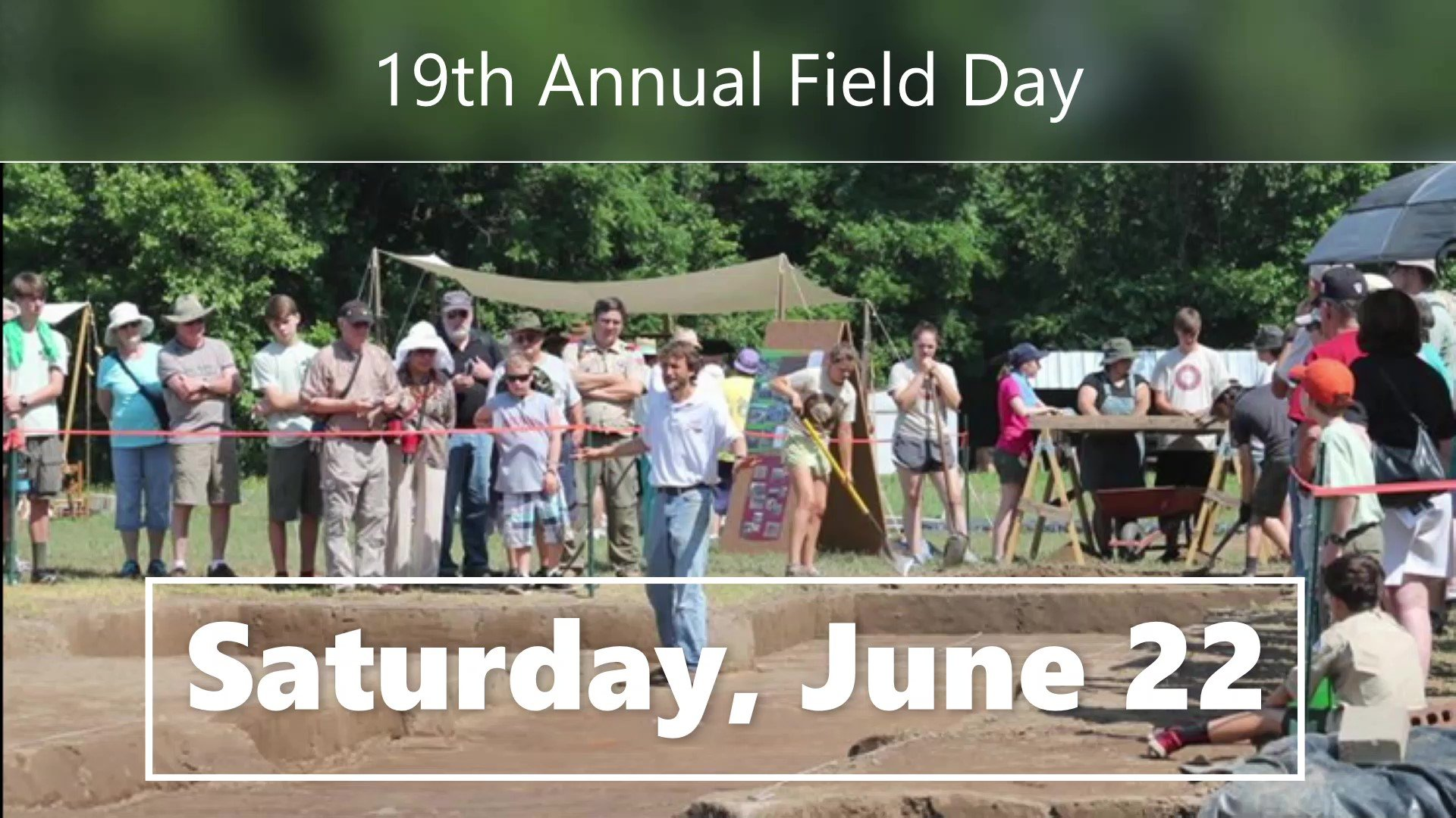Field Day- Open to the Community